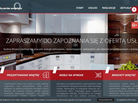 Kuznia-wnetrz.pl kuchnia na wymiar Szczecin