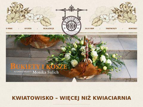Kwiatowisko kwiaty do ślubu Warszawa