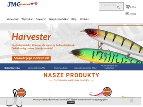 Jmcadventure.com przypony wędkarskie