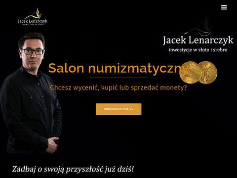 JacekLenarczyk.pl - sklep numizmatyczny Katowice