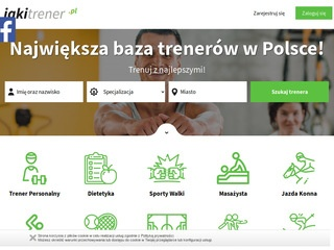 Jakitrener.pl baza instruktorów