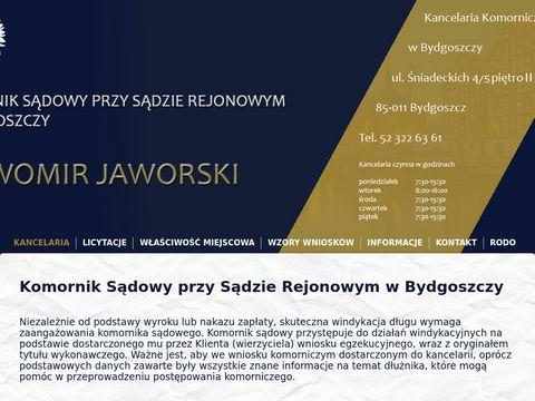 Sławomir Jaworski Bydgoszcz windykacja długów