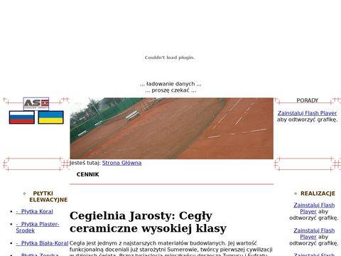 AS sprzedaż cegieł budowlanych łódzkie