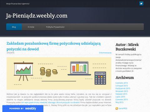 Ja-pieniadz.weebly.com - Mirek Buczkowski