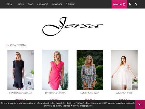 Jersa.pl producent odzieży damskiej