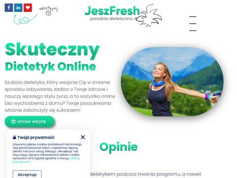 JeszFresh poradnia dietetyczna Warszawa