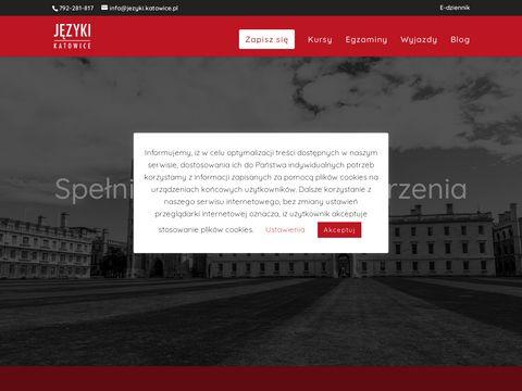 Jezyki.katowice.pl szkoła angielskiego