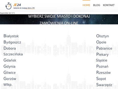 Je24.pl jedzenie 24h