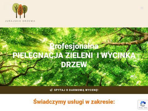 Jurajskiedrzewa.pl profesjonalna wycinka