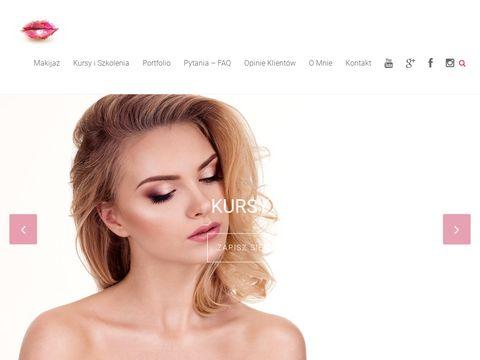 Justyna-borowska.com próbny makijaż Warszawa