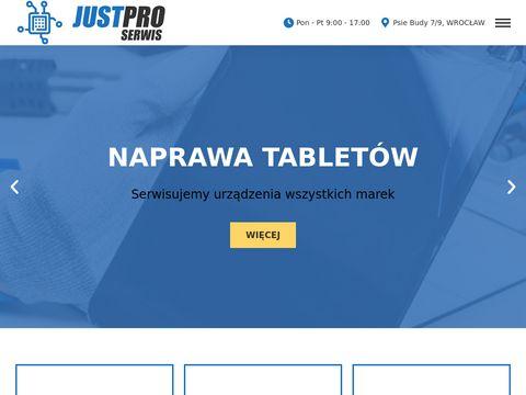 Justpro-serwis.pl naprawa laptopów Wrocław