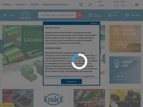 Micros.com.pl - hurtownia elektroniczna Kraków