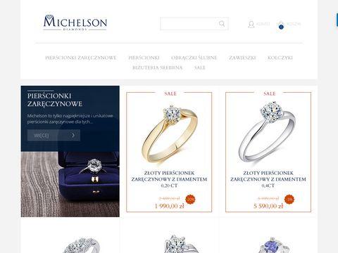 Michelson Diamonds Sp. z o.o - kolczyki