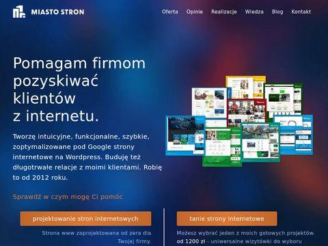 Miastostron.pl obsługa stron internetowych
