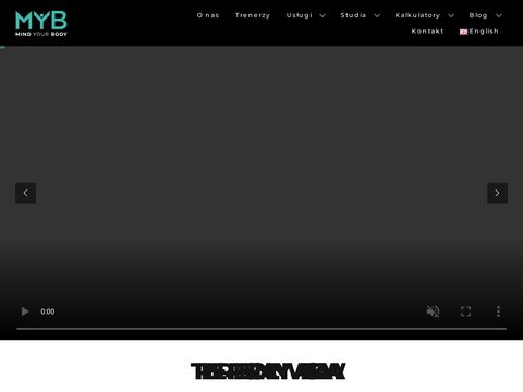 MindYOURbody.pl - trener osobisty