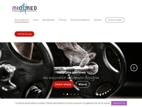 Miomed.pl fizjoterapia dzieci Gdańsk