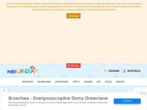 Milolandia.pl piosenki dla dzieci