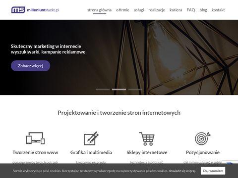 Projektowanie stron www Kraków - Millenium Studio