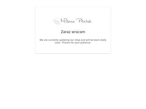 Milenaplatek.pl projektantka mody damskiej