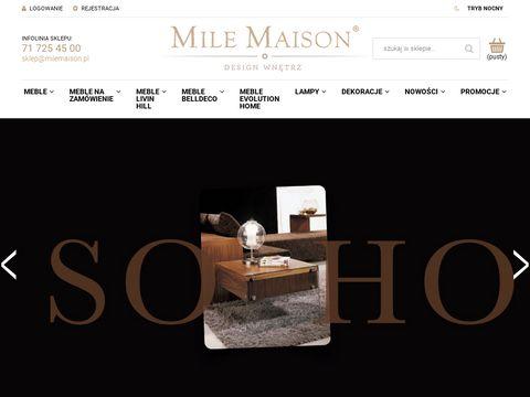 MileMaison.pl sklep z wyposażeniem wnętrz