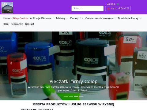 Miktel - skup telefonów Kraków, pieczątki