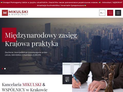 Mikulski.krakow.pl dziedziczenie nieruchomości