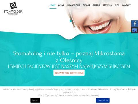 Mikrostoma.pl leczenie kanałowe
