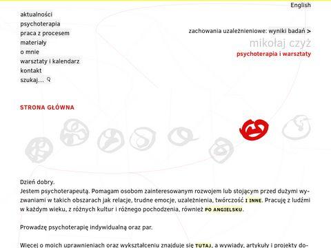 Mikolajczyz.pl psychoterapia par i indywidualna Warszawa