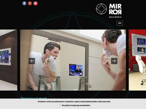Mirror Multimedia - ukryty telewizor