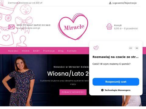 Miracle.com.pl moda dla kobiet w ciązy