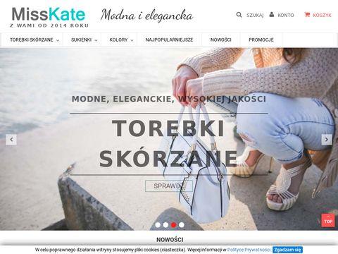 Misskate.pl - damskie torebki skórzane