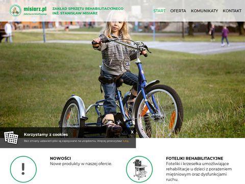 Misiarz.pl sprzęt rehabilitacyjny