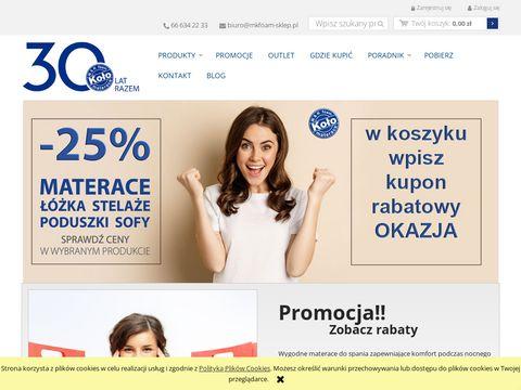 Mkfoam-sklep.pl materace bonelowe