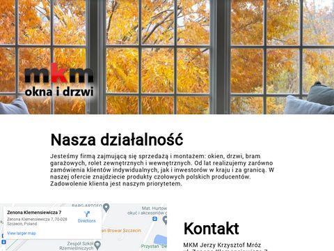 MKM Jerzy Mróz montaż drzwi Szczecin