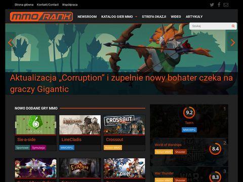Mmorank.pl portal dla graczy MMORPG