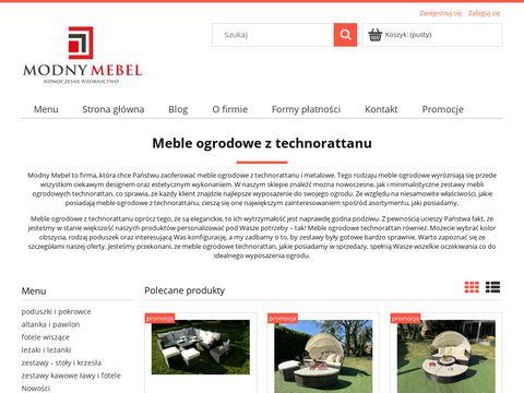 ModnyMebel - stół technorattan kraków