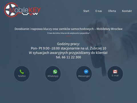 Mobilekeys.pl dorabianie kluczy do aut Wrocław