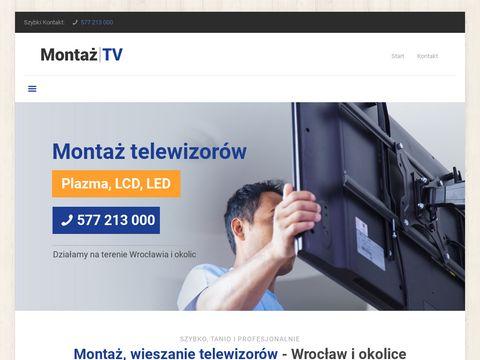 Montaz-telewizorow.pl specjaliści