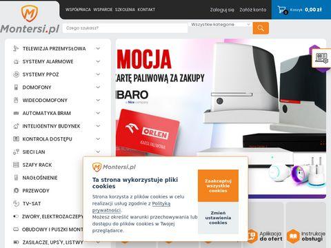 Montersi.pl - monitoring HD-CVI, systemy alarmowe