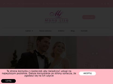 Monaliza.com.pl suknie ślubne Warszawa