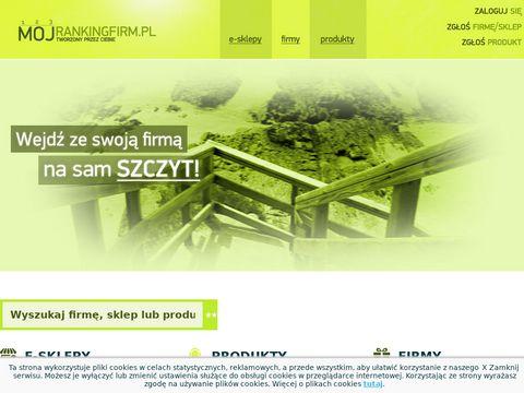 Mojrankingfirm.pl - Nowości o firmach