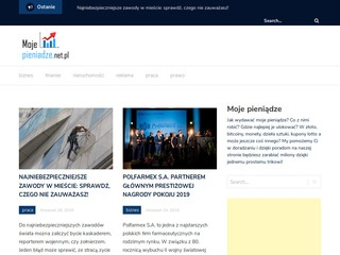 Mojepieniadze.net.pl - strona o pieniądzach