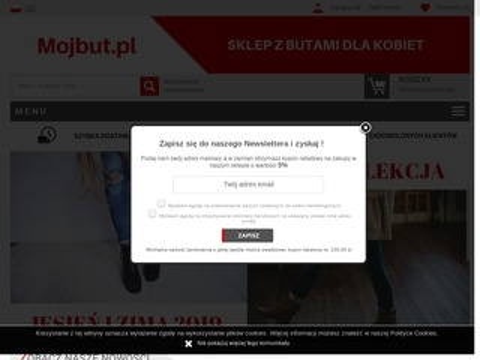 Mojbut.pl sklep z obuwiem dla kobiet