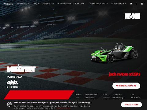 Motoprezent.pl - pomysł na prezent dla chłopaka