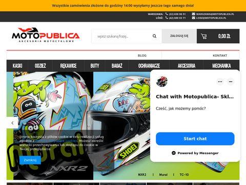 Motopublica.pl akcesoria motocyklowe Warszawa