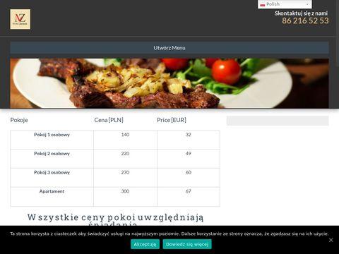 Sala Weselna Łomża - Motel Zacisze