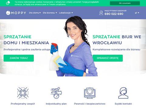 Moppy.pl mycie okien