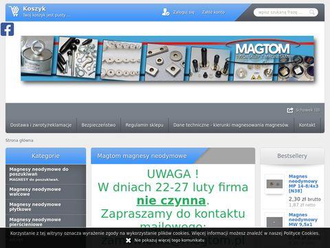 Magnesy neodymowe sklep internetowy klocki magnetyczne