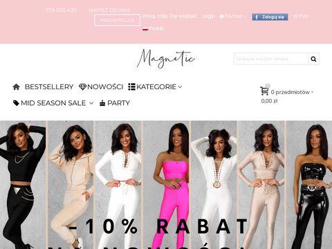 Magneticsklep.pl biała bluzka damska