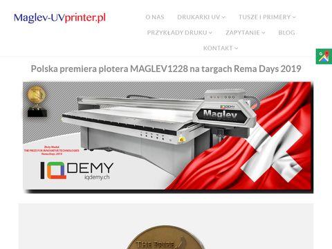 Maglev-uvprinter.pl drukarka do gadżetów